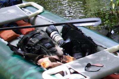Canoe with Camera